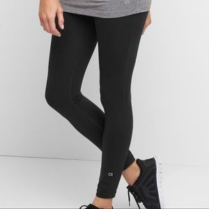 Maternity GapFit Blackout Full Length Leggings XS